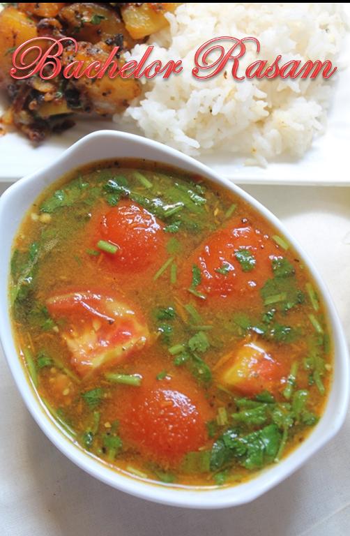 Bachelor Rasam Recipe / Easy Tomato Rasam Recipe