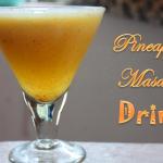 Pineapple Masala Drink Recipe