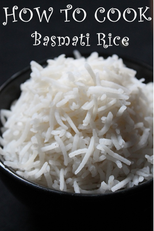 How to Cook Basmati Rice - Rice by Draining Method - Yummy ...
