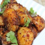 Garlic Potato Roast Recipe / Garlic Potatoes Recipe