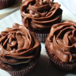 Banana Chocolate Cupcakes Recipe / Chocolate Banana Cupcakes with Chocolate Buttercream Frosting