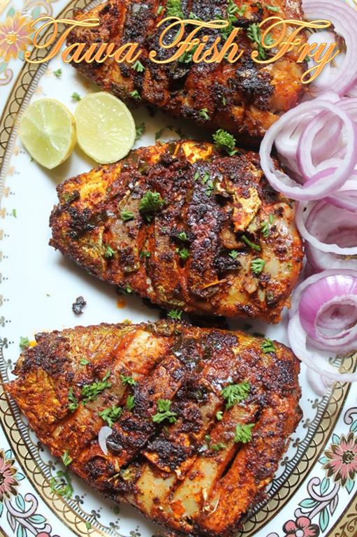 Tawa Fish Fry Recipe - Yummy Tummy