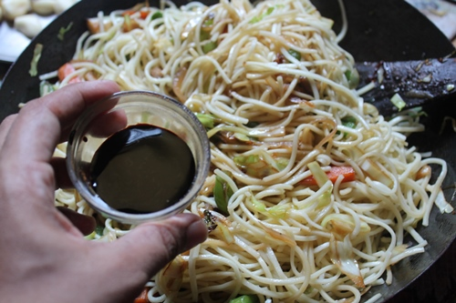 how to make veg chinese noodles