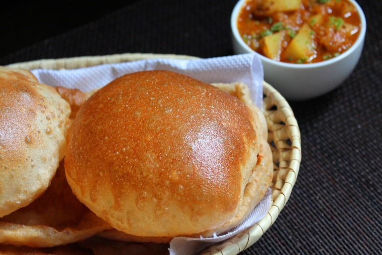 Whole Wheat Bhatura Recipe – No Yeast Bhatura Recipe