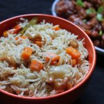 Vegetable Cashew Pulao Recipe / Veg Pulav Recipe