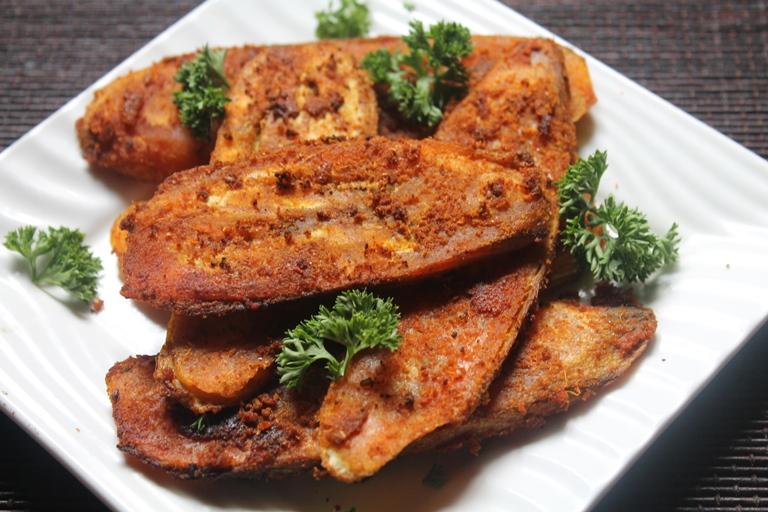Vazhakkai Roast Recipe / Raw Banana Roast Recipe