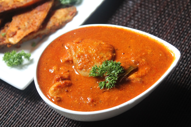 Masala Fish Curry Recipe / Spicy Fish Curry Recipe