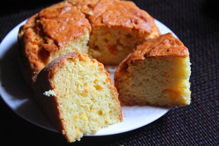 Eggless Fresh Orange Cake Recipe Orange Yogurt Cake Recipe Yummy