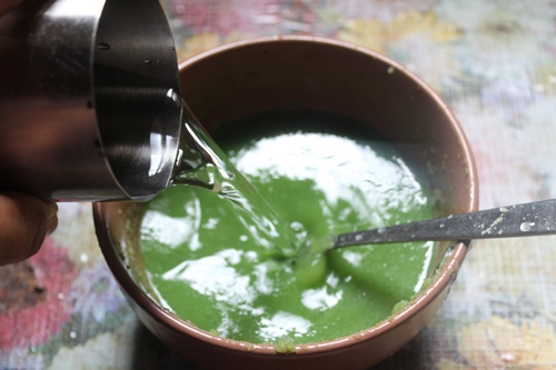 how to prepare karela juice