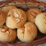 Eggless Cashew Cookies Recipe / Cashew Butter Cookies Recipe