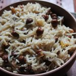 Easy Channa Pulao Recipe / Chana Pulav Recipe