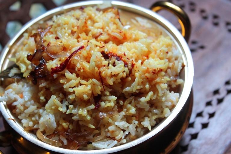 Easy Saffron Rice Recipe / Saffron Pulao Recipe / Kesar Rice Recipe