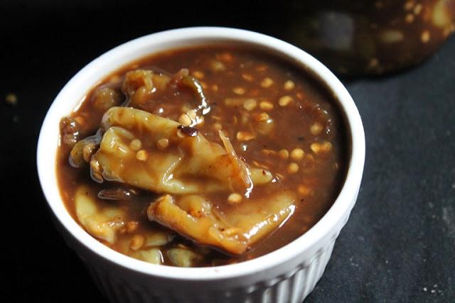 Grandma's Chilli & Tamarind Pickle Recipe / Puli Mulagai Recipe