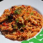 Eggplant Pasta Recipe / Eggplant and Tomato Pasta Recipe