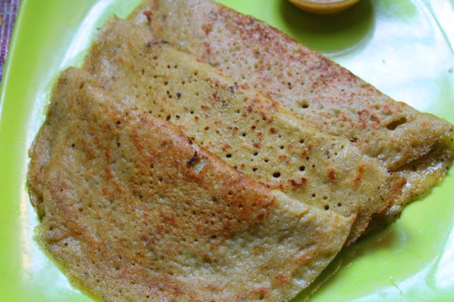 Ladies Finger Dosa Recipe / Vendakkai Dosa Recipe