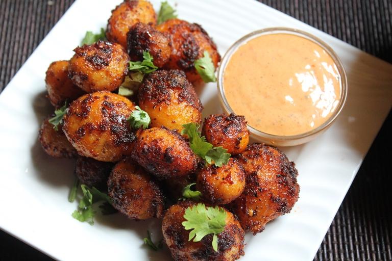 Peri Peri Potatoes with Peri Peri Mayonnaise Recipe