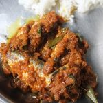 Puliyum Meenum Recipe / Fish Thokku Recipe