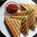 Tri Colour Grill Sandwich Recipe / Tricolour Sandwich Recipe