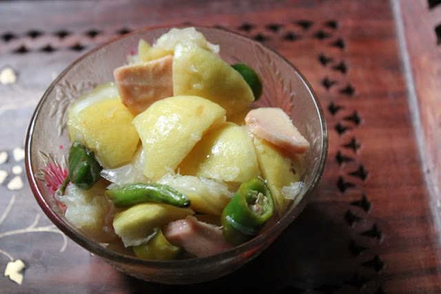 No – Oil Lemon Skin Pickle Recipe