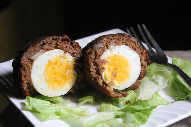Indian Scotch Eggs Recipe / Crispy Scotch Eggs Recipe