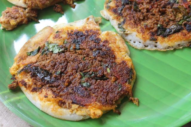 Madurai Kari Dosai Recipe – Mutton Kheema Dosa Recipe