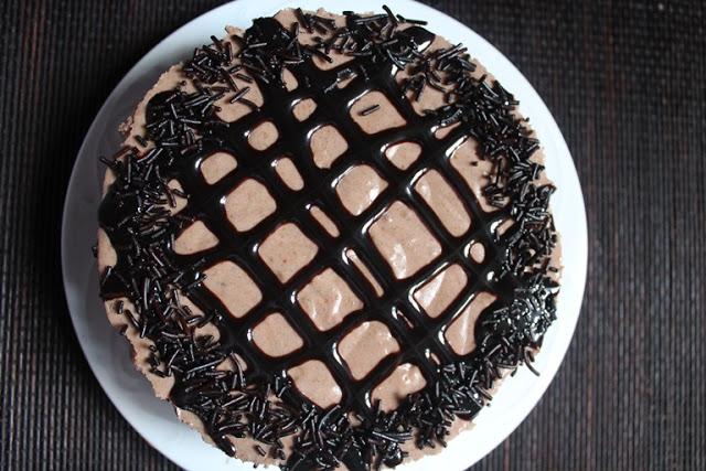 No-Bake Chocolate Peanut Butter Cheesecake Recipe