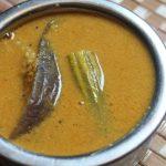 Brinjal Paruppu Kuzhambu Recipe / Brinjal & Drumstick Dal Gravy Recipe