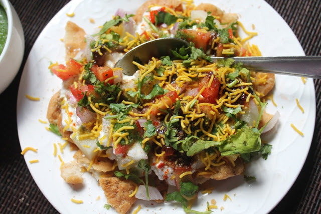 Papdi Chaat Recipe – Papri Chaat Recipe – Dahi Papdi Chaat Recipe