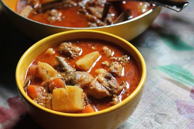 Spicy Chicken Stew Recipe