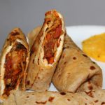 Vegetable Egg Kathi Rolls Recipe