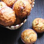 Eggless Banana Oats & Dates Breakfast Muffins