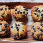 Eggless Chocolate Chip Muffins Recipe / Choco Chip Muffins Recipe