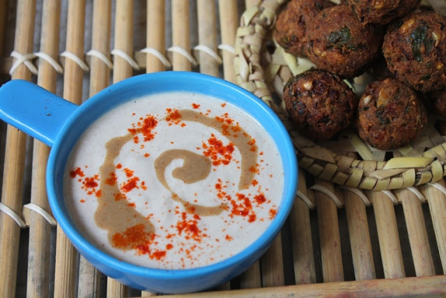 Tahini Dip Recipe / Tahini Sauce Recipe