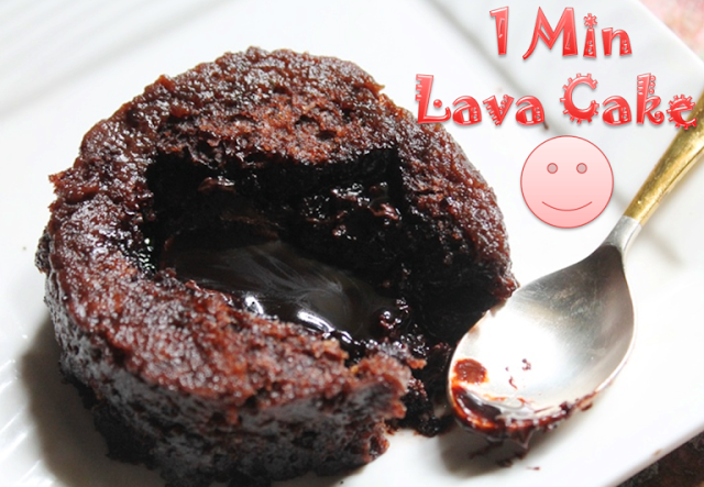 Chocolate Lava Mug Cake No Milk