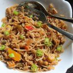 Veg Noodles Fried Rice Recipe