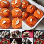 24 Easy Ladoo Recipes – Indian Laddu Recipes – Festival Special Ladoo Recipes