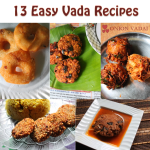 13 Easy Vada Recipes / South Indian Vadai Recipes