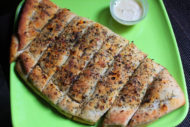 Dominos Stuffed Garlic Bread Recipe