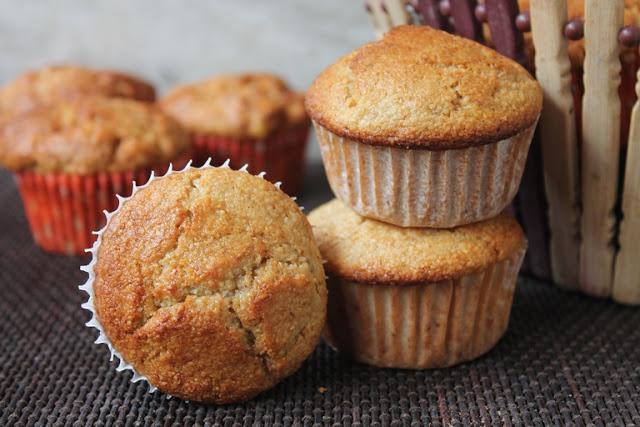 Banana & Oat Bran Muffins Recipe – Eggless & Gluten Free Muffin Recipe
