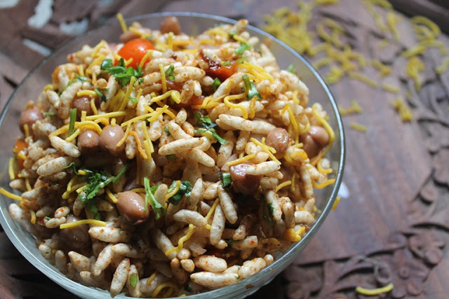 Healthy Bhel Chaat Recipe – Peanut Chaat Recipe