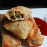 Chilli and Cheese Spring Rolls Recipe – Cheese Spring Rolls Recipe