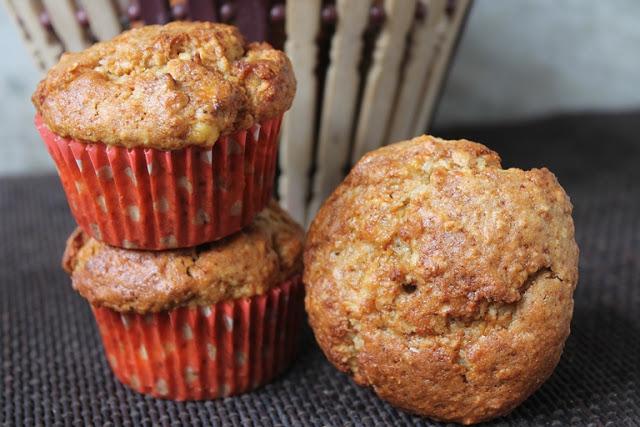 Healthy Banana Oats Muffins Recipe – Eggless Banana Oats Muffins Recipe