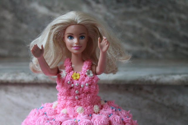 Barbie Birthday Cake Recipe – How to Make a Barbie Doll Cake at Home