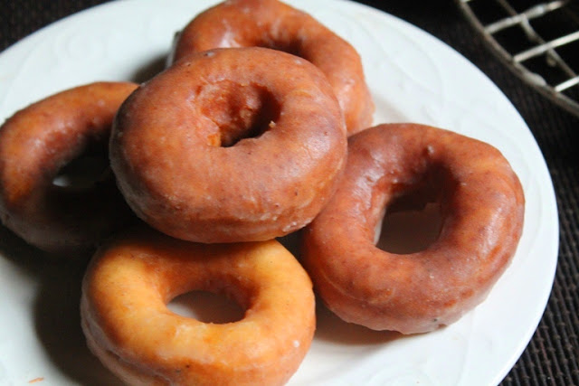 Easy Glazed Doughnuts Recipe – How to Make Doughnuts without Yeast – Yeast Free Cake Doughnuts Recipe