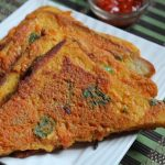 Bread Besan Toast Recipe – Vegetable Besan French Toast Recipe