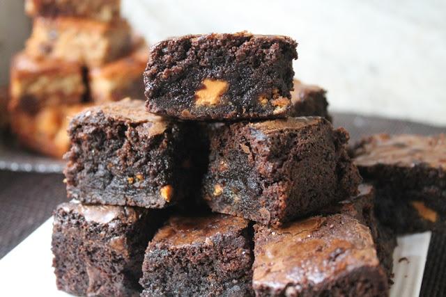 Best Quadruple Chocolate Brownies Recipe Ever