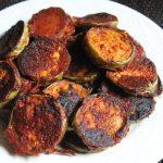 Long Green Brinjal Tawa Fry Recipe