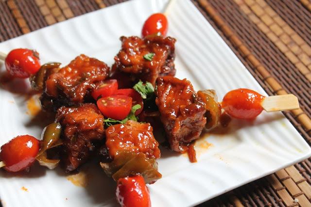 Chilli Paneer Bites Recipe – Paneer Appetizer Recipes