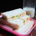Veg Finger Sandwich Recipe – Veg Tea Sandwich Recipe