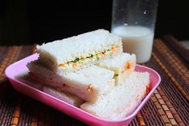 Veg Finger Sandwich Recipe – Veg Tea Sandwich Recipe